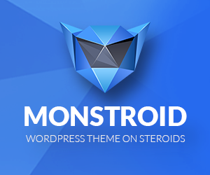 Monstroid - WordPress Theme On Steroids