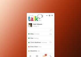 Google Talk Concept Design PSD - Freebies Gallery