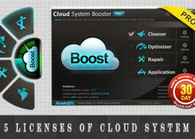 Win 5 license keys for Cloud System Booster Pro worth $100