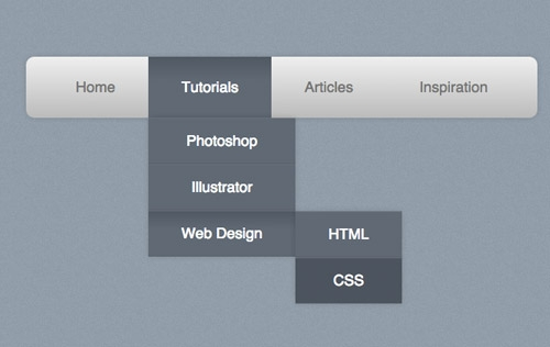 Pure CSS3 Navigation Menu Generators and Tutorials