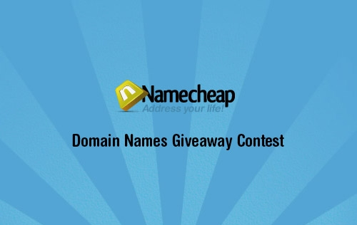 Giveaway 3 Top Level Domain Names from Namecheap