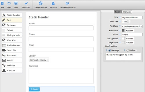 Bootstrap Form Creator Dolapgnetband