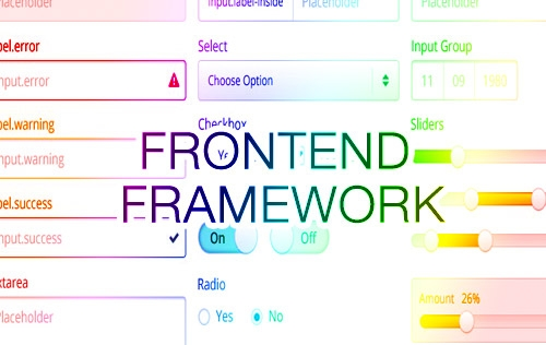 Useful Front-end Frameworks with Responsive Support