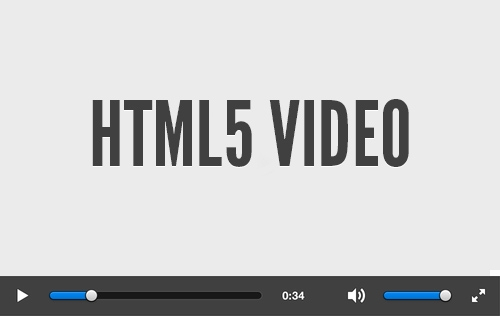 Digging into HTML5 Video
