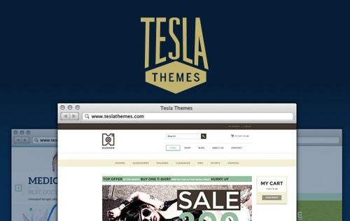 Giveaway: 3 Premium WordPress Themes from TeslaThemes