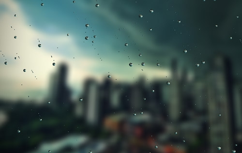 Create Ultra-Realistic Rain Drops with Rainyday.js