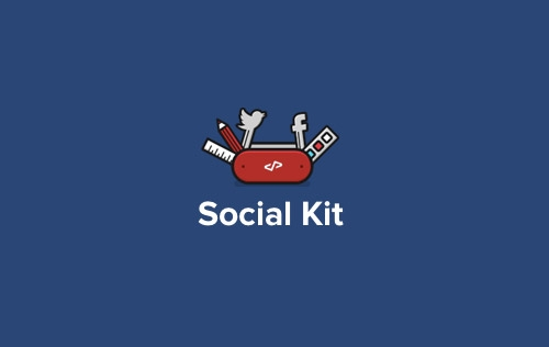 Social Kit - Free Photoshop Plugin for Latest Social Media Templates