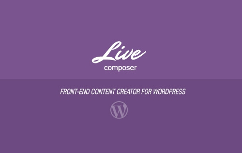 Giveaway: Live Composer - Front-End Content Creator For WordPress