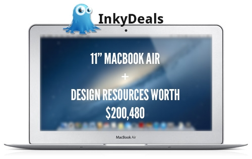 Inky Deals Giveaway: 11