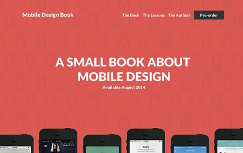 3 Great Tips on Mobile Design from the Mobile Design Book