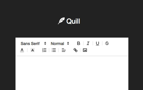 Quill - Another Great Standalone Javascript Rich Text Editor