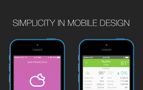 What Makes Simplicity In Mobile Design A Good Thing?