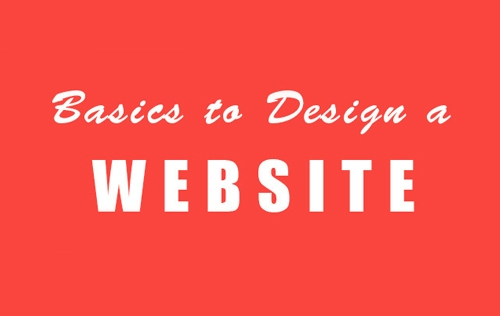 Basics to Design a Website