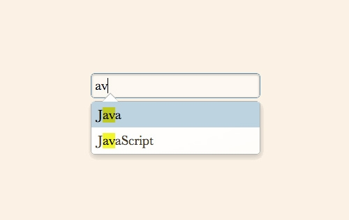 Awesomplete - Ultra Lightweight and Highly Customizable Autocomplete Javascript Plugin