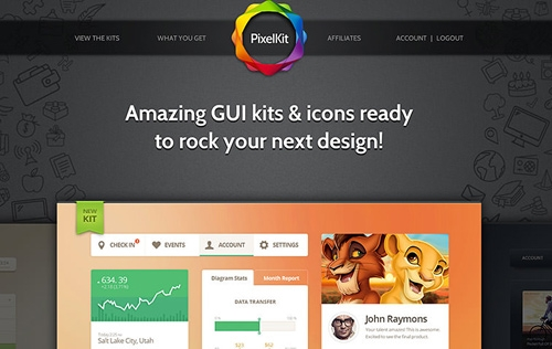 Your Chance to Nab a Full Subscription to PixelKit Premium UI Kits and Design Resources