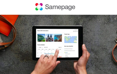 Create Featured-Rich Online Page Easily with Samepage