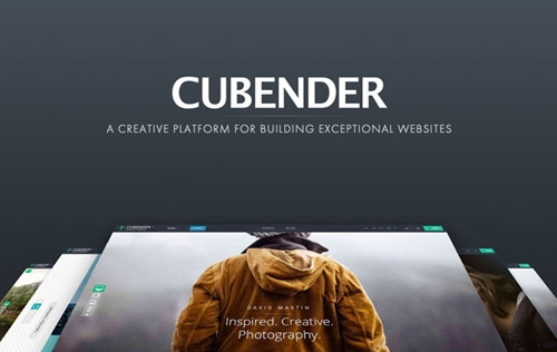 Cubender Responsive Website Builder is Now Version 5