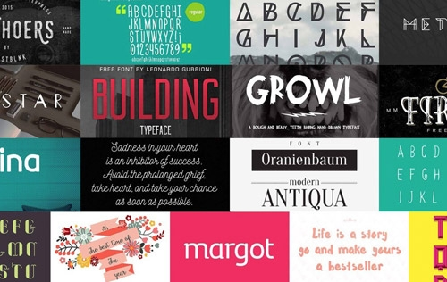 Freebies! 17 Incredible Free Fonts
