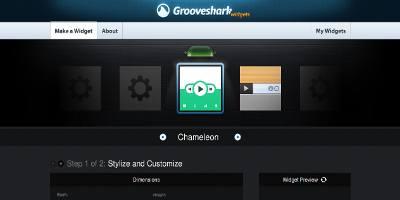 Grooveshark Widgets