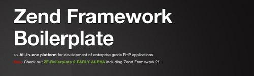 Zend Framework Boilerplate