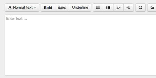 WYSIWYG Editor for Bootstrap