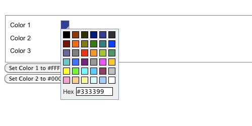 Javascript Color Picker - Really Simple Colorpicker