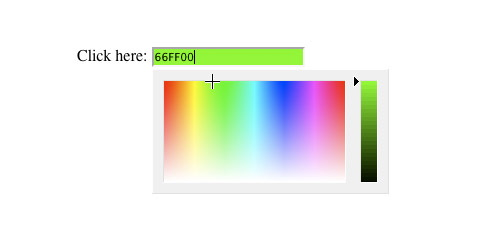 Javascript Color Picker - JSColor