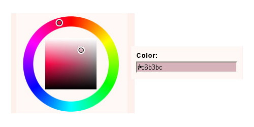 Javascript Color Picker - Farbtastic