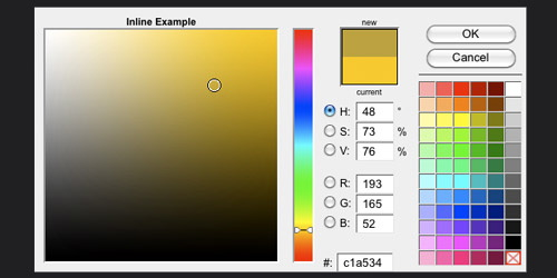 Javascript Color Picker - jPicker