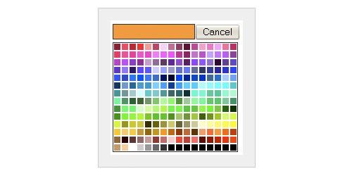 Javascript Color Picker - SimpleColor