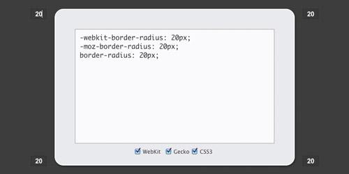 10个在线 CSS3 代码生成工具