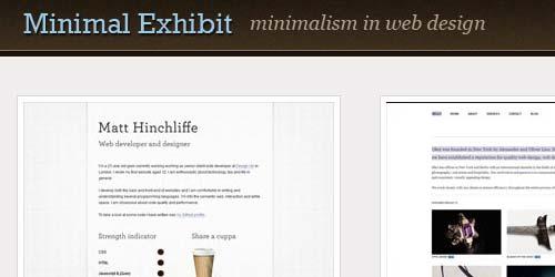 Minimal Exhibit