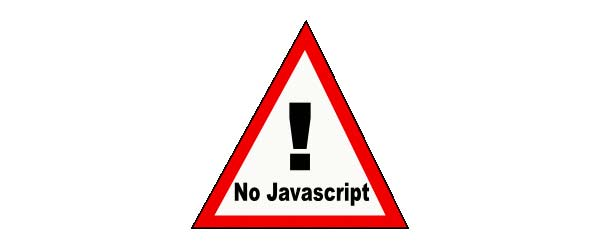 do not use Javascript