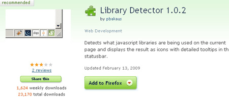 Library Detector
