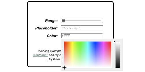 HTML5 Widget