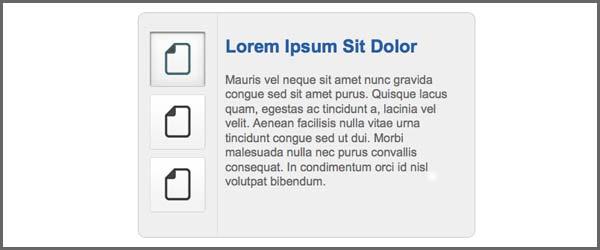 Custom Content Slider