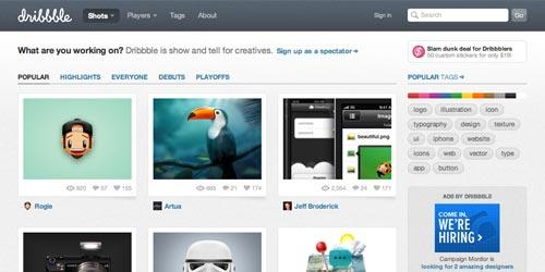 11个值得Web设计师收藏的网站