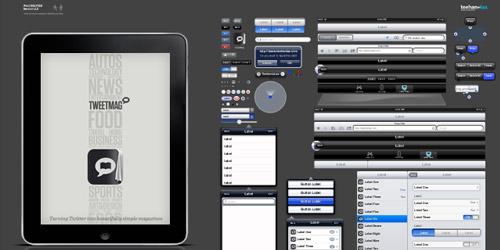iPad GUI PSD v2
