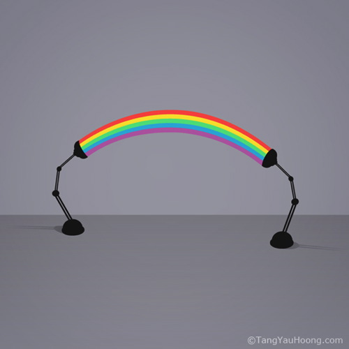 Table Rainbow