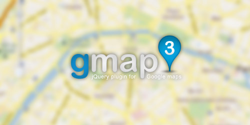 gmap3 jQuery Google Map API 3 jQuery plugin