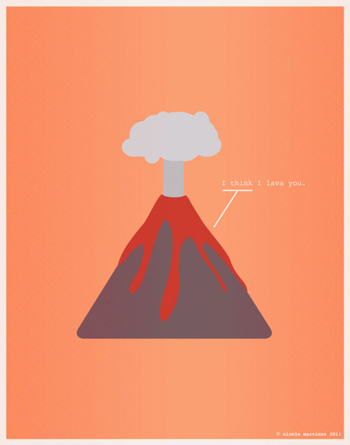 Minimal Design - I think I lava you
