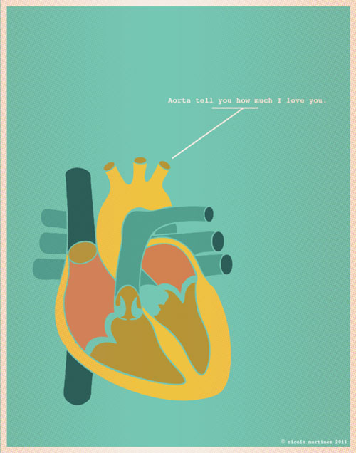 Minimal Design - Aorta tell you how much I love you