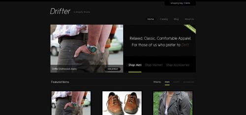 Drifter A Shoptify Theme