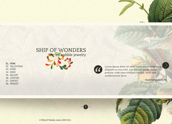 Ship of wonders