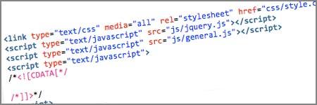 Separate HTML, CSS & Javascript