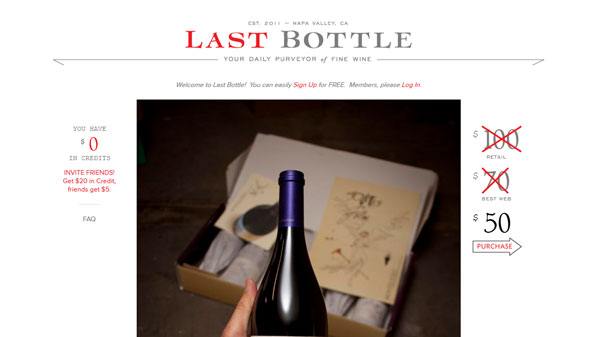Type families - Last Bottle Wines