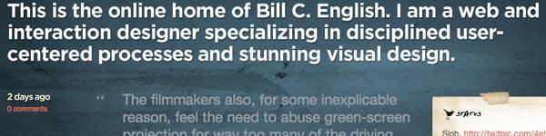 Bill C English