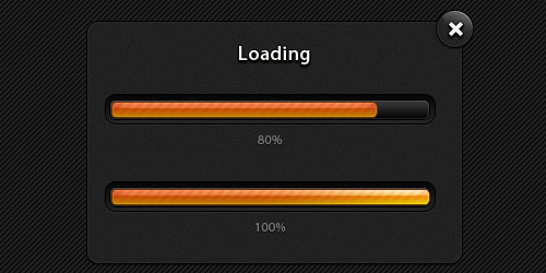Modal Progress Bars