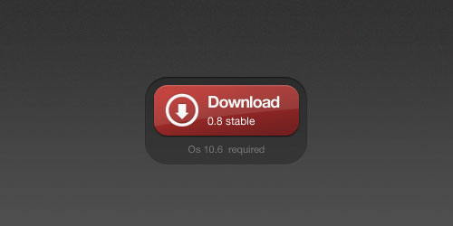 Red Download Button