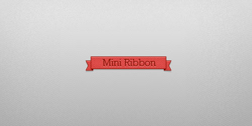 Mini Ribbon